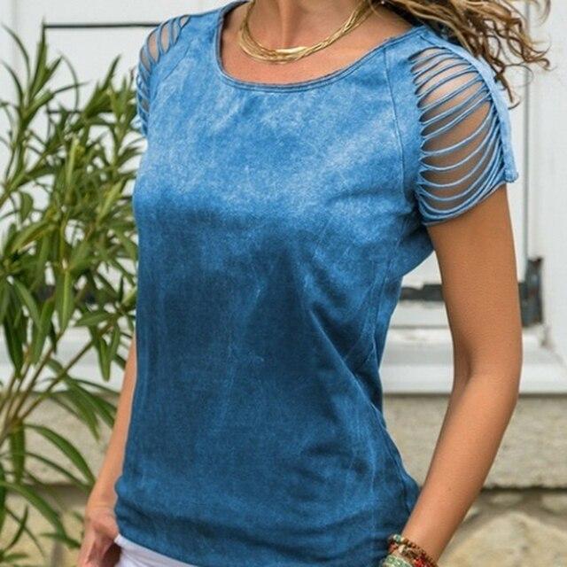женские летние топы 2020 modis с открытыми плечами рубашка коротким фотография