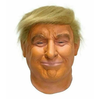 Presidente trump máscara realista adultos halloween deluxe látex cabeça cheia donald trump horror máscara com cabelo halloween cosplay prop