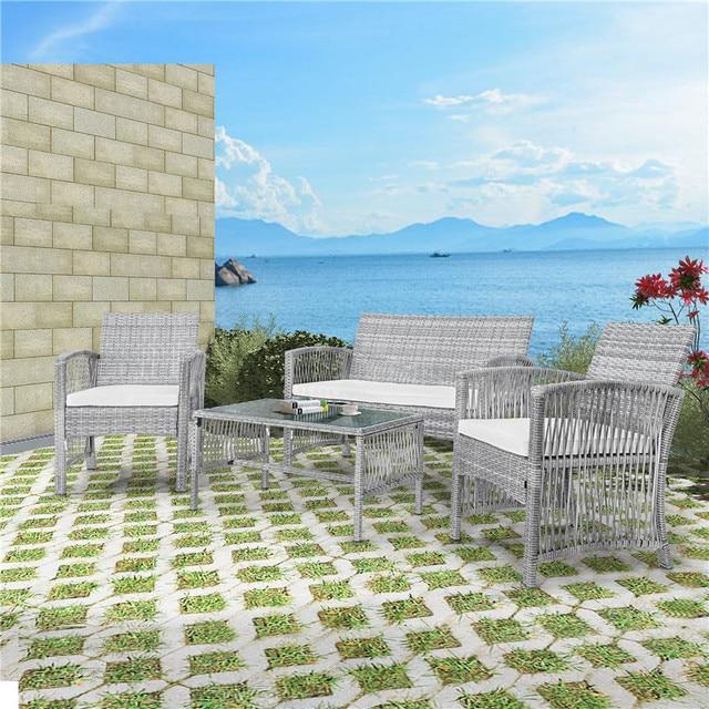 8Pcs Outdoor Garden Furniture Set 2