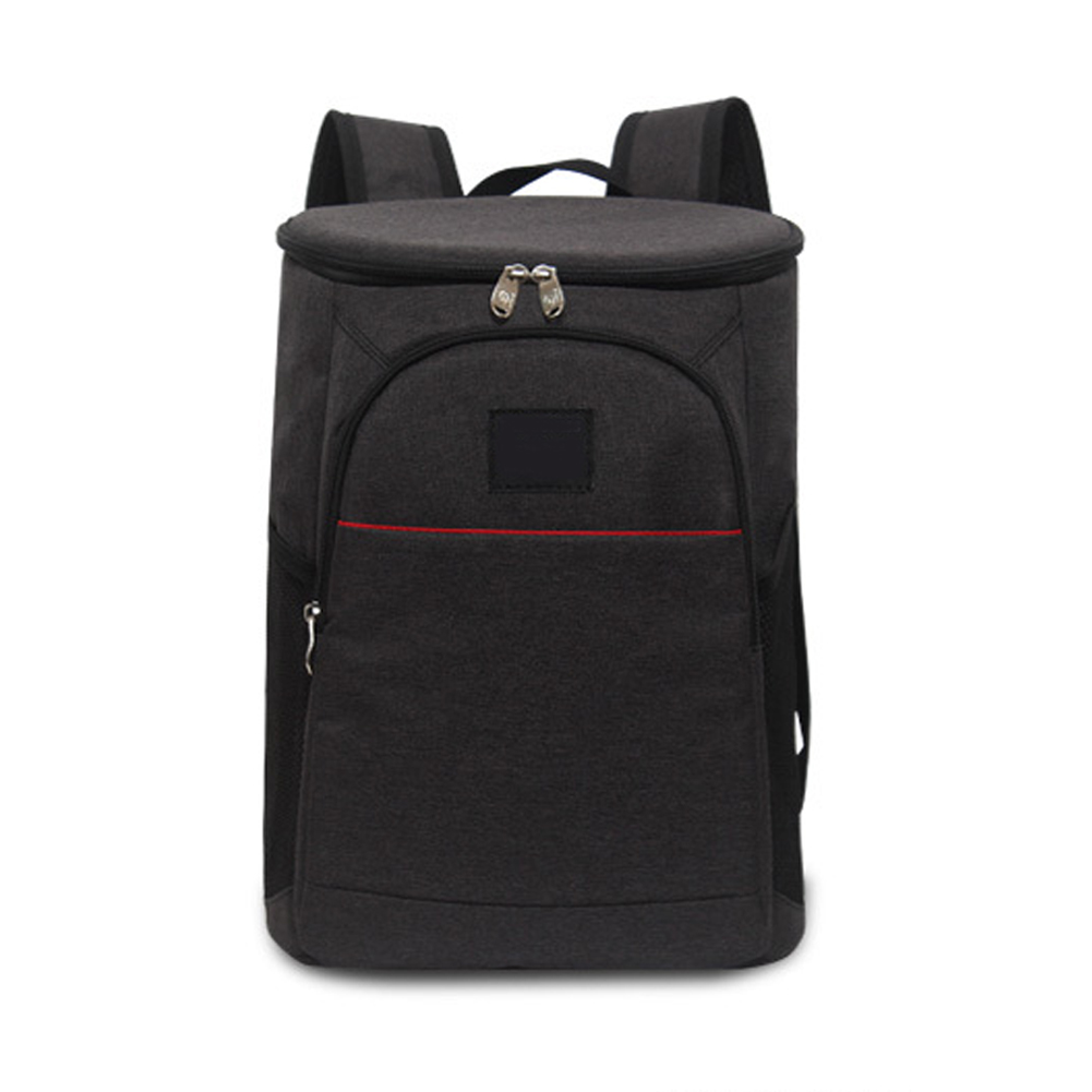18L <font><b>Ice</b></font> <font><b>Pack</b></font> Large Capacity Oxford Fabric Backpack Unisex Hand Bag Insulated Travel Wine Cooler Picnic <font><b>Lunch</b></font> Tote Food Storage image