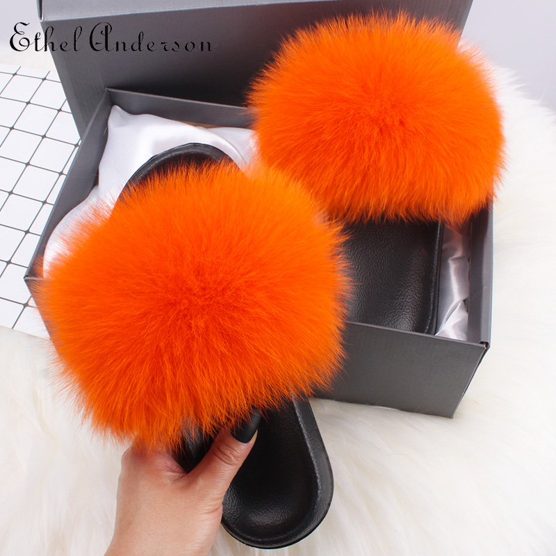Orange Fox Fur