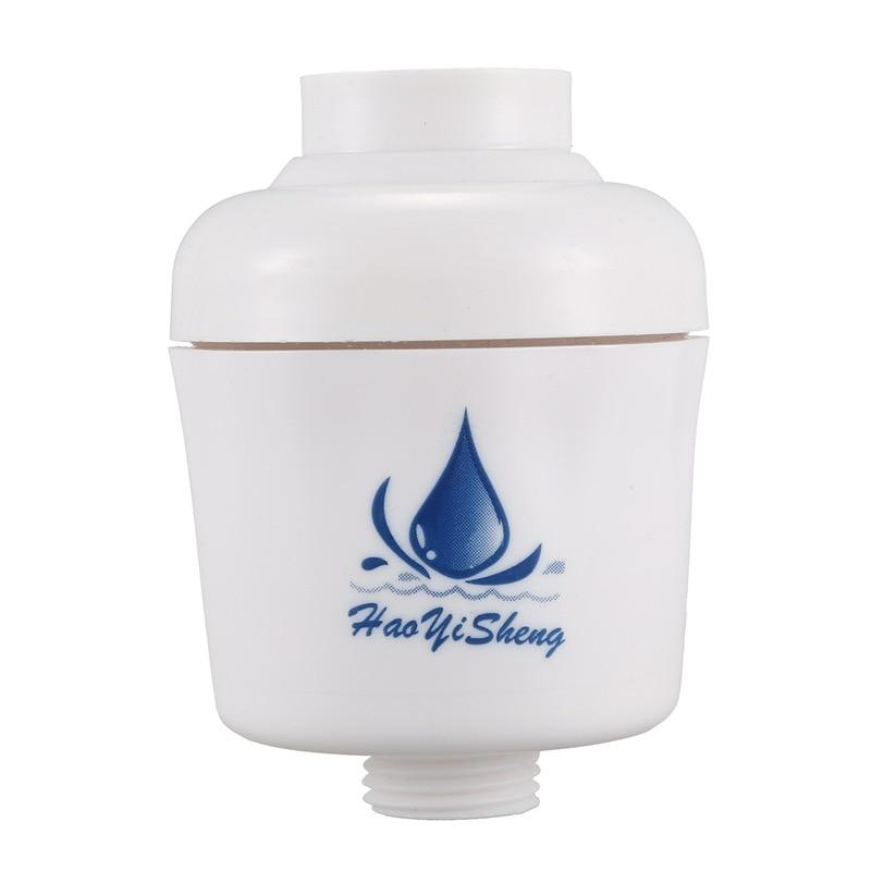 Kitchen In-Line Shower Bath Head Purifier Water Filter Health Remove Chlorine, In-Line Shower Filter