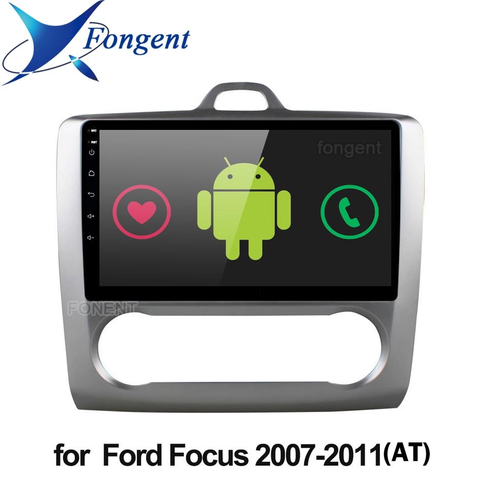 Android 9,0 автомобильное радио для ford focus EXI MT 2 3 Mk2 2004 2005 2006 2007 2008 2009 2010 2011 2 Din GPS мультимедийный плеер стерео