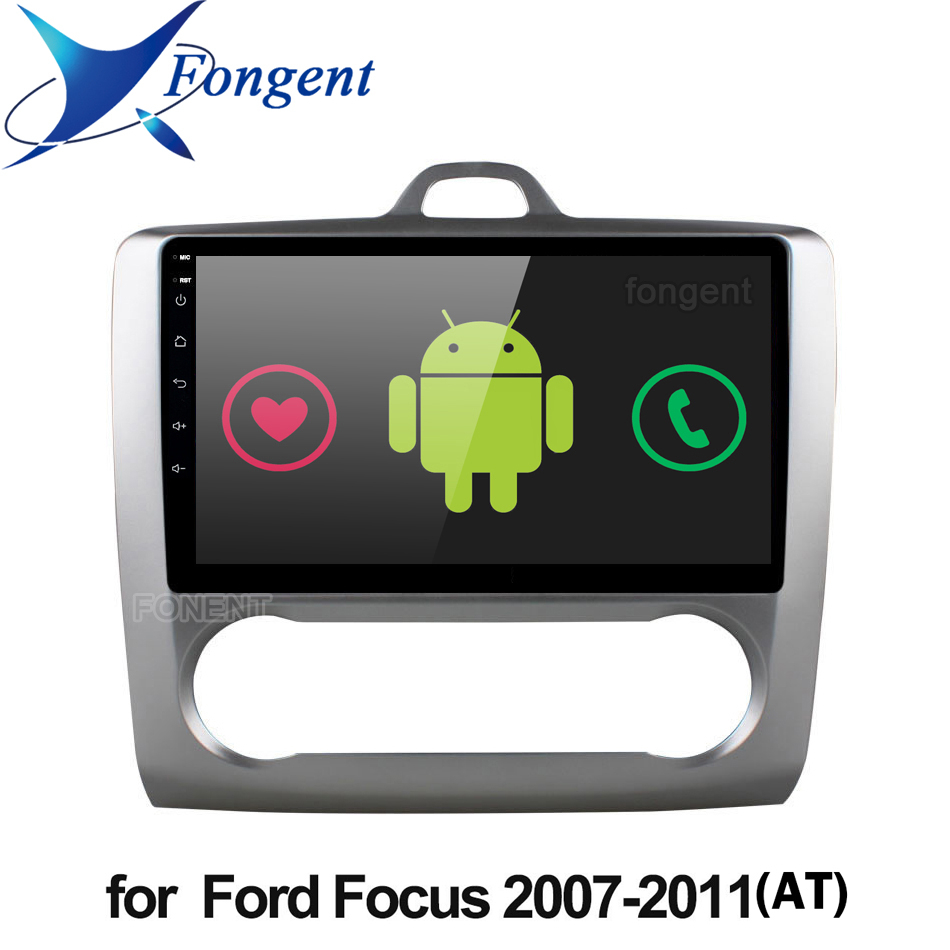Android 9.0 Car Radio For <font><b>ford</b></font> <font><b>focus</b></font> EXI MT 2 3 <font><b>Mk2</b></font> 2004 <font><b>2005</b></font> 2006 2007 2008 2009 2010 <font><b>2011</b></font> 2 Din GPS Multimedia Player Stereo image