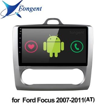 Android 9.0 samochodowe dla ford focus EXI MT 2 3 Mk2 2004 2005 2006 2007 2008 2009 2010 2011 2 Din odtwarzacz multimedialny gps Stereo