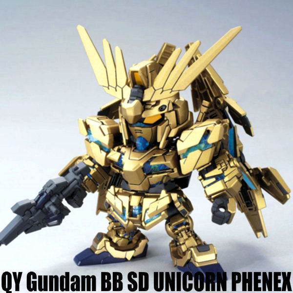 anime figures <font><b>Gundam</b></font> SD <font><b>BB</b></font> Banshee robot action figure plastic model kits toys image