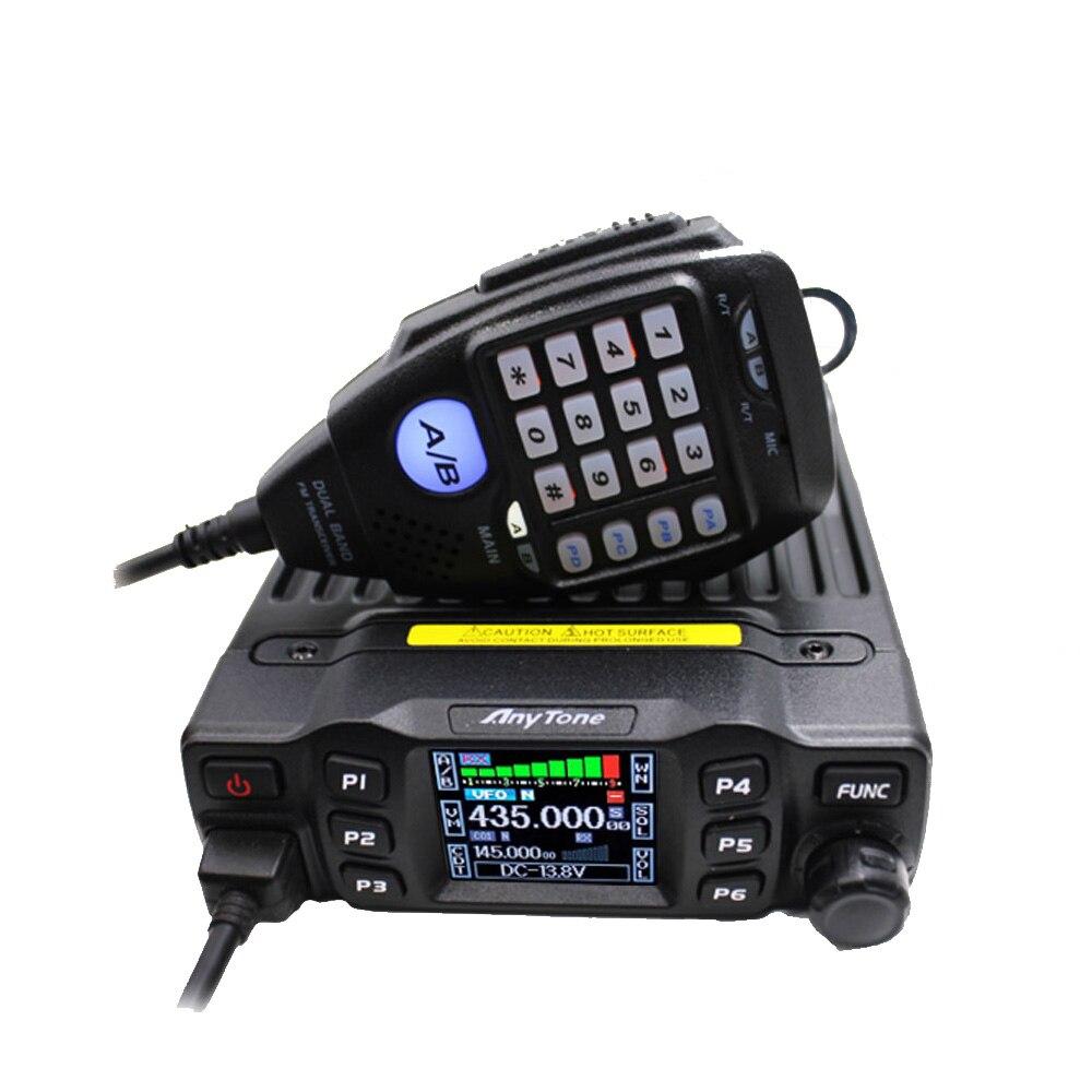 Walkie talkie anytone AT-778UV 25w, rádio móvel dual band vhf 136-174 uhf 400-480 rádio amador ham