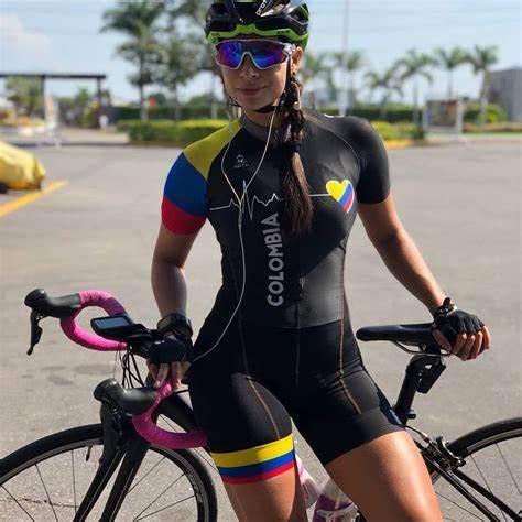 Pro roupas de bicicleta das mulheres ciclismo terno sexy macacão roupas de estrada ciclismo triathlon verão correndo tights9d gel 20 4