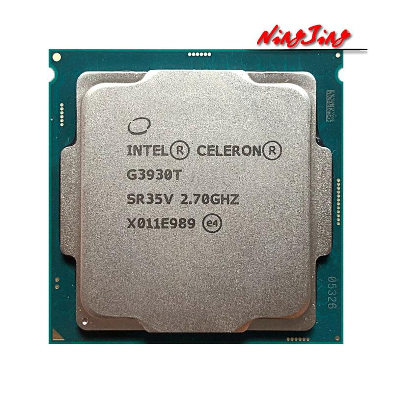 Двухъядерный процессор Intel Celeron G3930T, 2,7 ГГц, 35 Вт, LGA 1151