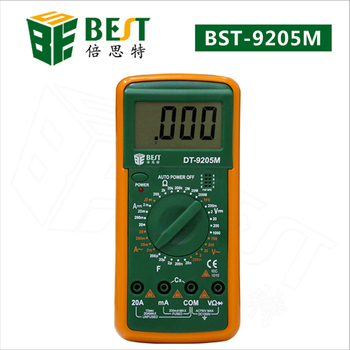 цена на Multimeter DT-9205M Upgraded version Wholesale BEST 9205M Handheld LCD Screen Digital Multimeter With buzzer Test Meter Dropship