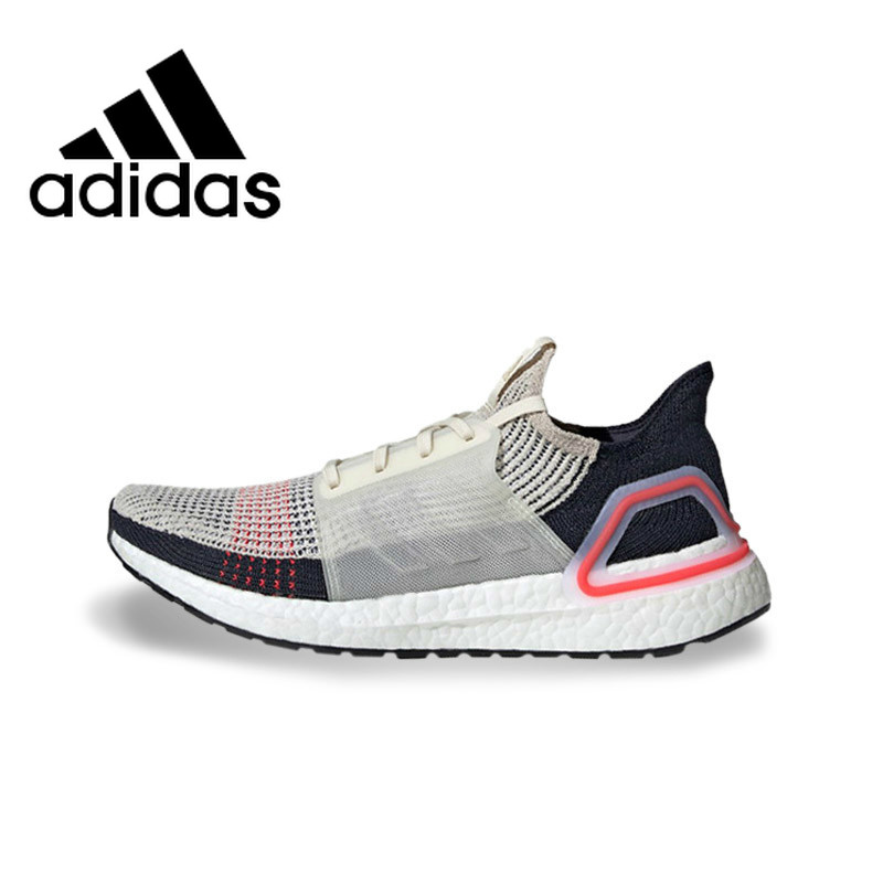 <font><b>Original</b></font> Authentic <font><b>Adidas</b></font> UltraBoost 19 UB19 Unisex <font><b>Running</b></font> <font><b>Shoes</b></font> Outdoor Sneakers Designer Footwear 2019 New Arrival B37704 image