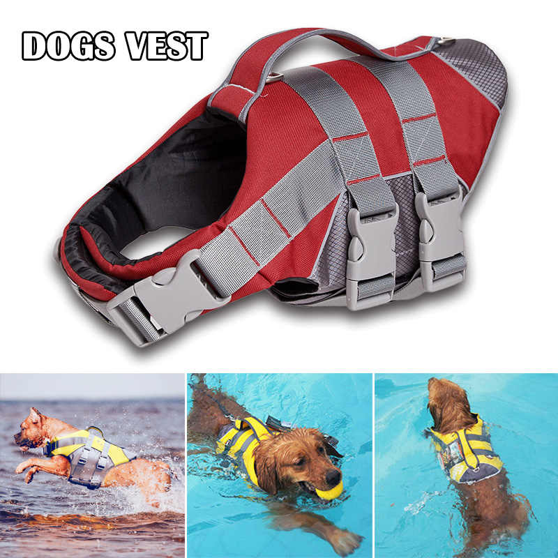 Zomer Hond Zwemvest 3 Meter Reflecterende Huisdier Zwemvest Waterdicht Hond Veiligheid Kleding BJStore