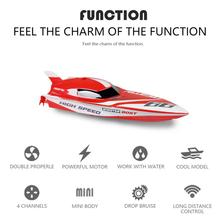 None Cool 2.4G Kids Toys 4 Functions Mini RC Speedboat