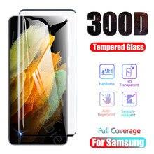 300d protetor de tela para samsung galaxy s21 plus nota 20 ultra vidro temperado em s20 mais s10 nota 10 s9 s8 s 21 20 10 e filme