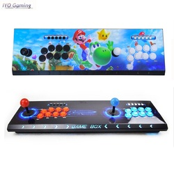 Iyo Pandora Box 3D Arcade Doos 2448 In 1 Wifi Versie Geen Vertraging Joystick Licht Knoppen Pcb Controller Retro Arcade console