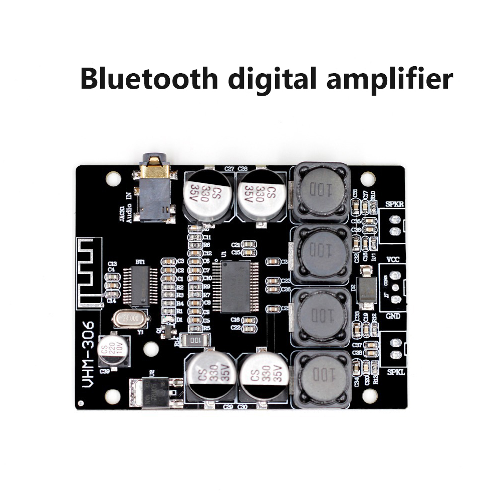 DIDIHOU VHM-306 Bluetooth 4.2 TPA3118 2x30W 8-26V DC Stereo Audio Digital Power Amplifier Board For Amplifiers