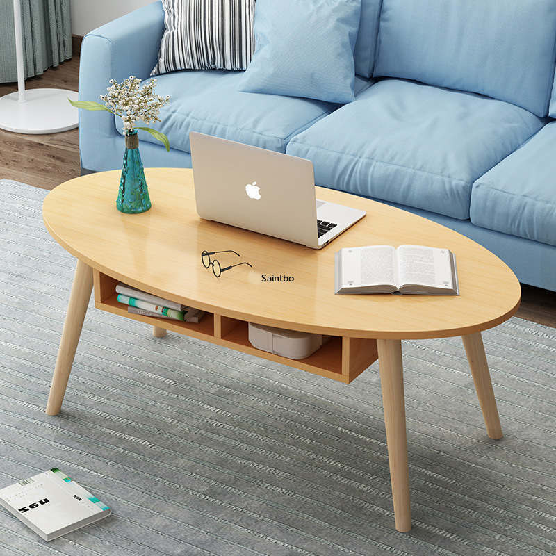 Northern Europe coffee table simple modern small household living room sofa side table home bedroom small round table