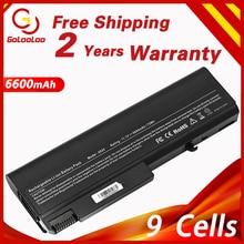 Golooloo 6600mAh Laptop Battery for HP EliteBook 6930p 8440p 8440w ProBook 6440b 6445b 6450b 6540b 6545b 6550b 6555b 6535b