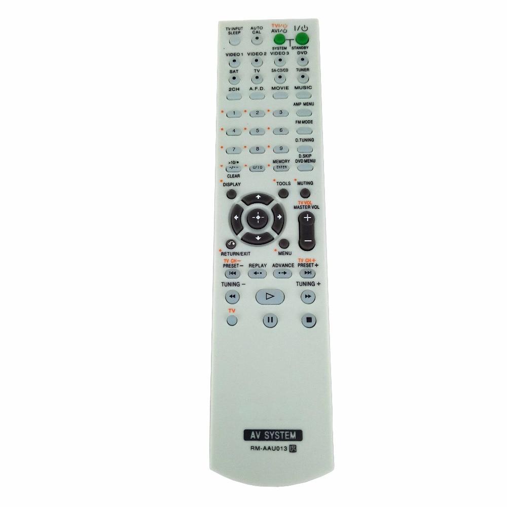 NEW RM-AAU013 Replacement for Sony AV Receiver Remote Control for HT-DDW685 HT-DDW790 E15 STRDG500 STRDH100 STRDH500 RM-AAP013