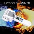 Ультразвуковой горячий холодный молоток для криотерапии, подогрев теплого льда, подтяжка кожи лица, подтяжка, омоложение кожи, ультразвуко...