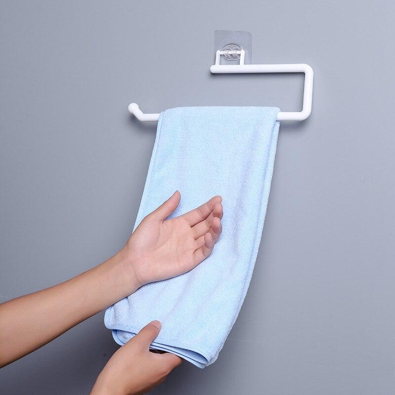 Кухня бумага рулон держатель полотенце вешалка вешалка бар шкаф тряпка вешалка держатель ванная органайзер полка туалет бумага держатели полка