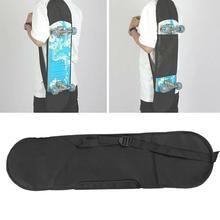 1 шт., черная сумка для переноски, рюкзак для скейтборда, рюкзак для взрослых, рюкзак для скейтборда, рюкзак для улицы, прочный рюкзак, 82,5*23 см
