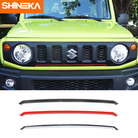 SHINEKA Exterior Accessories For Suzuki Jimny Car Front Grille Decoration Trim Stickers For Suzuki Jimny 2019 2020 Car Styling