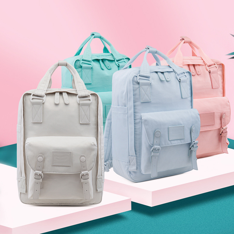New Travel Bagpack Waterproof Nylon Large Capacity Backpacks Female 14 Inch Laptop Backpack Women School Bags For Teenage Girls