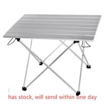Aluminium Legierung Tragbare Tisch Im Freien Möbel Faltbare Folding Camping Wandern Schreibtisch Reisen Outdoor Picknick Tisch Möbel
