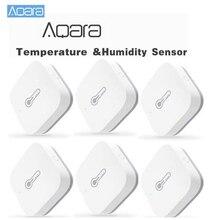 Aqara akıllı sıcaklık nem sensörü hava basıncı kablosuz uzaktan kumanda ZigBee Wifi bağlantısı ev cihazı