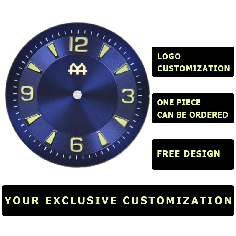 -------------  Free LOGO Customization  -------------  Miyota 8215 ,8205 ,821a,eta 2836,seagull St1612