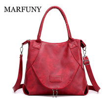 HOT 2019 Womens Handbags Designers Luxury Soft pu leather Female Vintage women Bags Sac a Main Fashion Brand