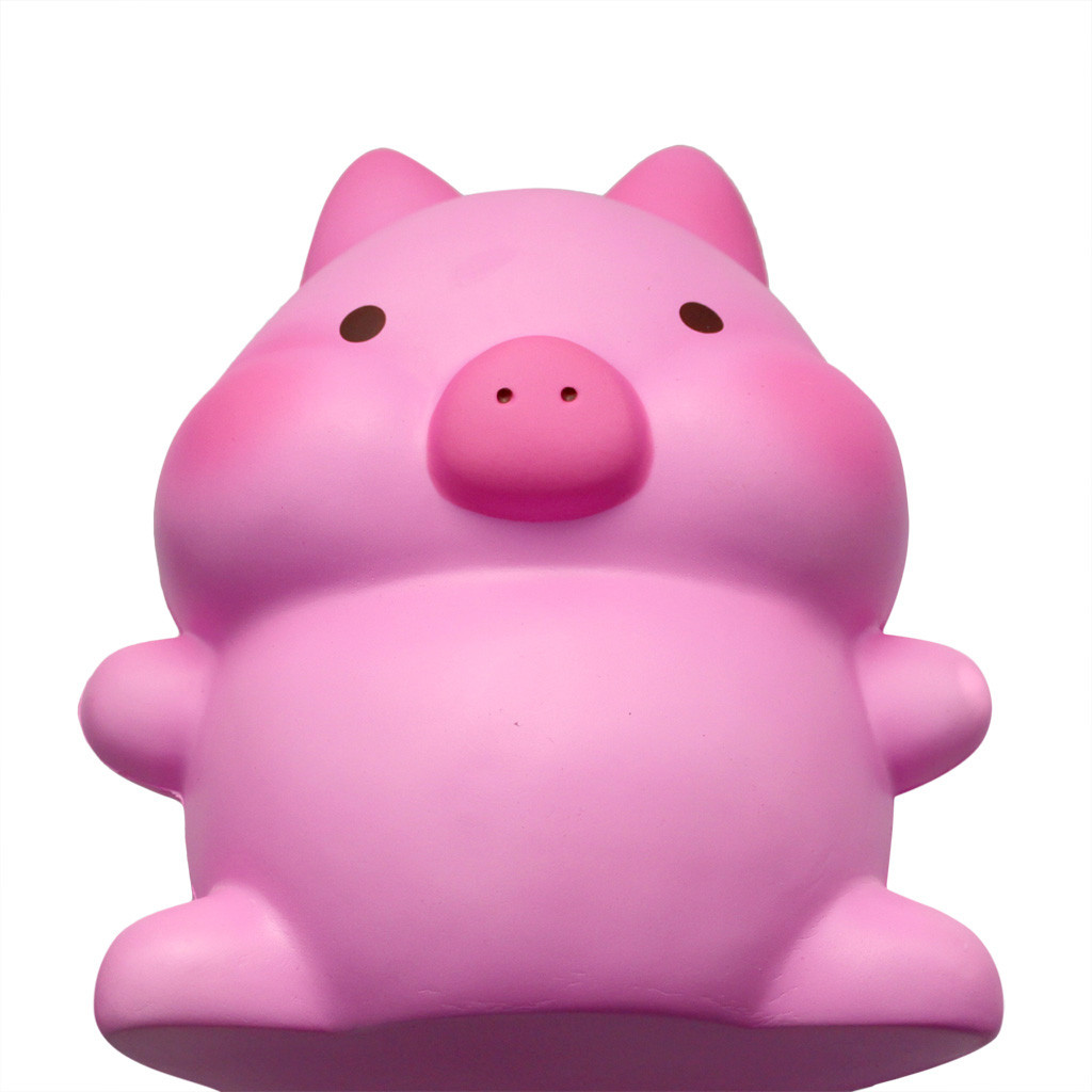 Adorable Squishies Kawaii Jumbo Pig Slow Rising Cream Scented Stress Relief Toy