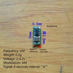 Uhf1045 Drahtlose Leuchtfeuer Ultra Kleine Signal Quelle Modul 0,2g Geeignet für Vögel Insekt Tracking