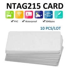 10 шт nfc карты ключ тег контроль доступа 1356 МГц бесконтактные