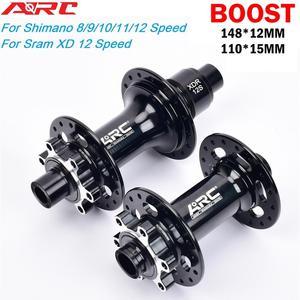 ARC 32H Bicycle BOOST hub MTB Bike MICRO SPLINE Hub 148*12 110*15MM For Shimano DEORE XT M8100 M7100 M6100 12 speed Sram XD 12s