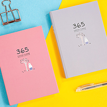 A5 Cute Student Notebook Monthly Weekly Planner Kawaii  Accessories Bullet Journal Stationery School Study Notepads Supplies
