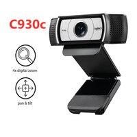 Logitech C930c/c930e HD Pro Webcam Widescreen Video Calling and Recording 1080p Camera, Desktop or Laptop Webcam