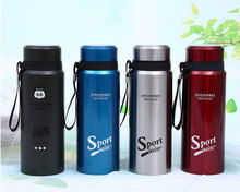 2019 New Stainless Steel Thermos Cup For Outdoor Sports Student Gift cup Cartoon 500ml 800ml Thermal Insulation