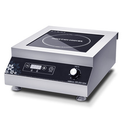 Commercial Electromagnetic Induction Cooker High Power 5000W Waterproof Heating Cooktop Cooking Stove For Restaurant Canteen