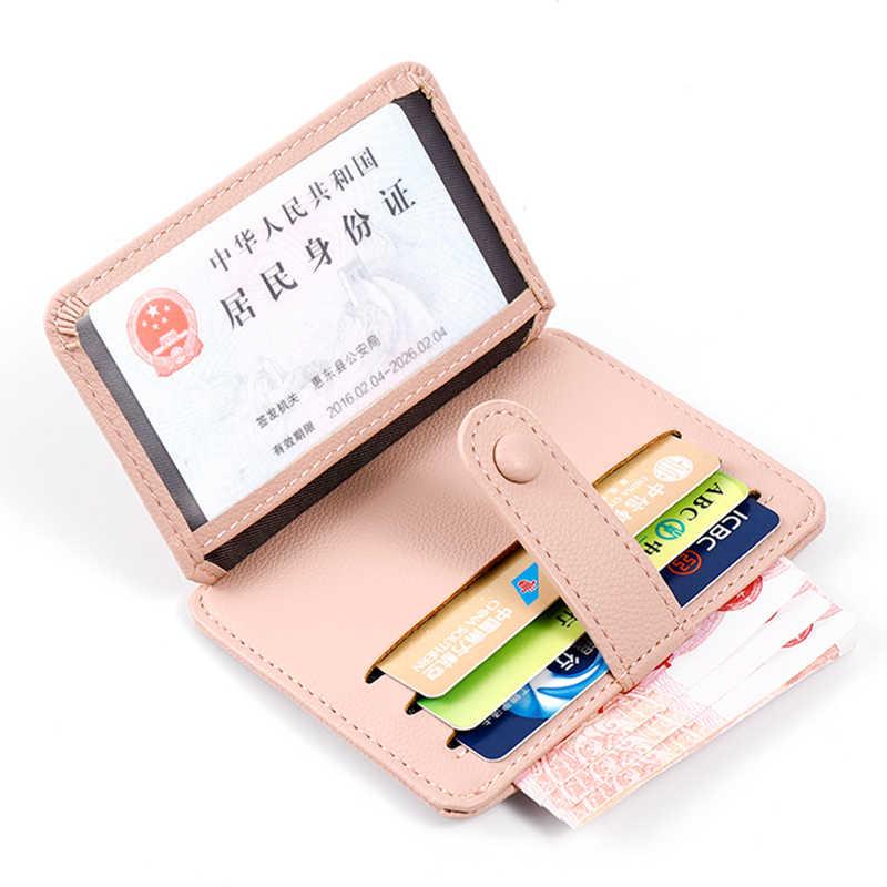 Luksusowa marka skórzane etui na karty kredytowe kobiety krótki zamek błyskawiczny moneta designerska torebka Mini portfel kopertówka portmonetka damska małe portfele