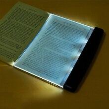 Новинка батарея Модная книга защита глаз ночное видение светильник для чтения беспроводной портативный светодиодный панель путешествия спальня книга ридер