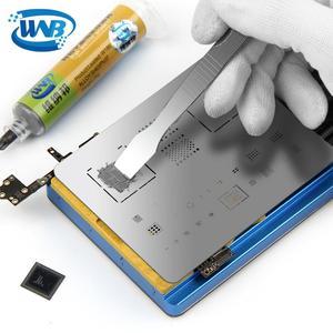 Image 4 - WNB 10cc Spritze Flux Set Sn63/Pb37 Leaded Schweiß 183 ℃ Schmelzen Löten Zinn Paste Mit Lotpaste Schaber für SMD PCB Reparatur