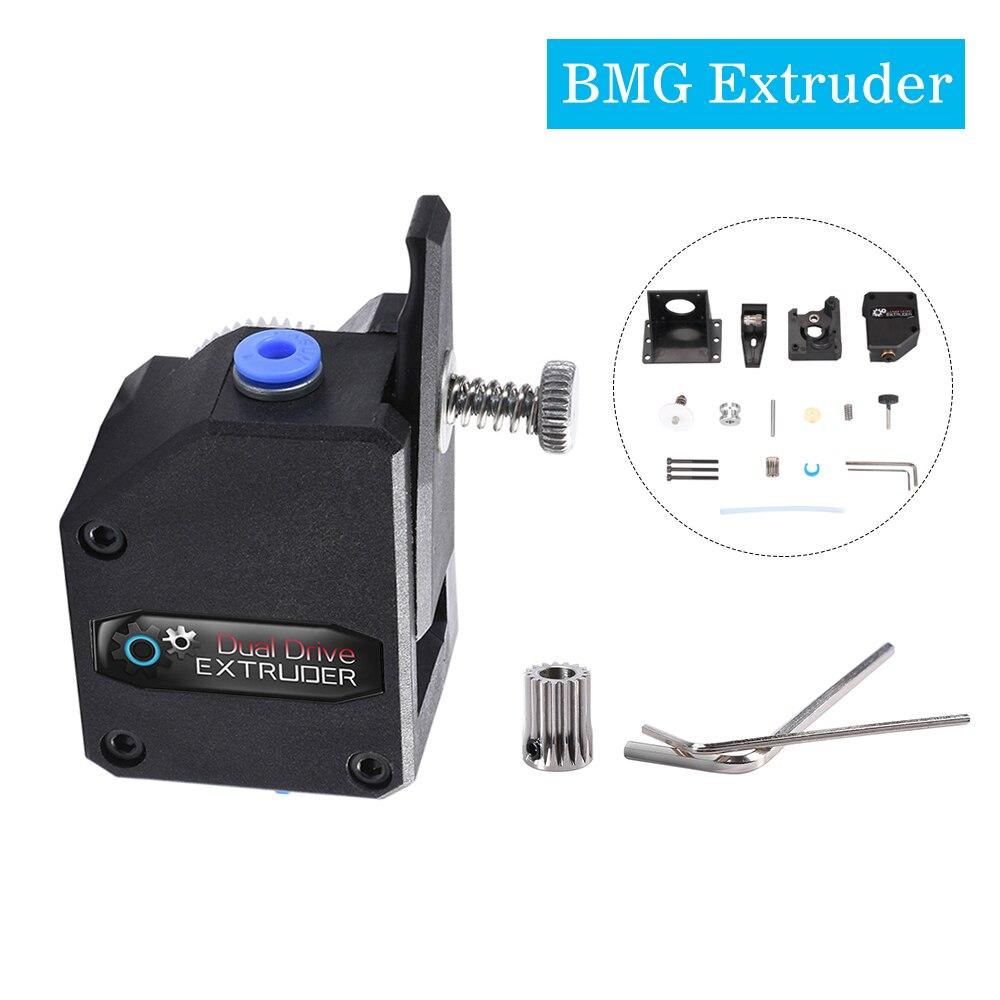 para Creality CR-10 Bowden Extruder para Anet E10 Para Ender-3 Impresora 3D BMG Extruder Dual Drive Extrusora Deceleraci/ón para Wanhao D9 Negro