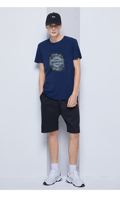 Pioneer Camp 2020 short sleeve t shirt men fashion brand design 100% cotton T-shirt male quality print tshirts o-neck 405038