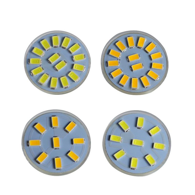 Купить с кэшбэком lampade gu4 mr11 led 12v 24v spotlight 1W 2W super glass cup Diameter 35mm spot bulb light Ac Dc 12 24 volt energy saving lamp