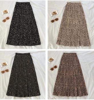Women's Pleated Chiffon Skirts