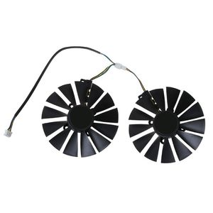 1PC/1Pair 95MM Cooler 13 Blades Cooling Fan Replacement for A-SUS ROG POSEIDON GTX1080TI P11G STRIX RX470 RX570 580 Graphics Vid