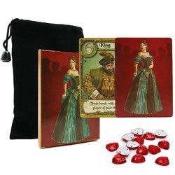 2020 inglês carta de amor jogo de tabuleiro melhor qualidade 2 a 4 jogador jogo de cartas de jogo