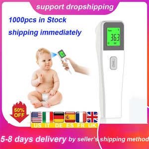 Infrared Forehead Digital Non-contact Body Temperature Measurement Body Digital Infrared Baby Adult LCD Ear Termometro Infrarojo(China)